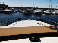 Our boats in Sanxenxo