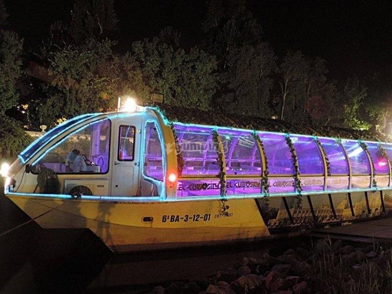 Nuestro barco en Aranjuez