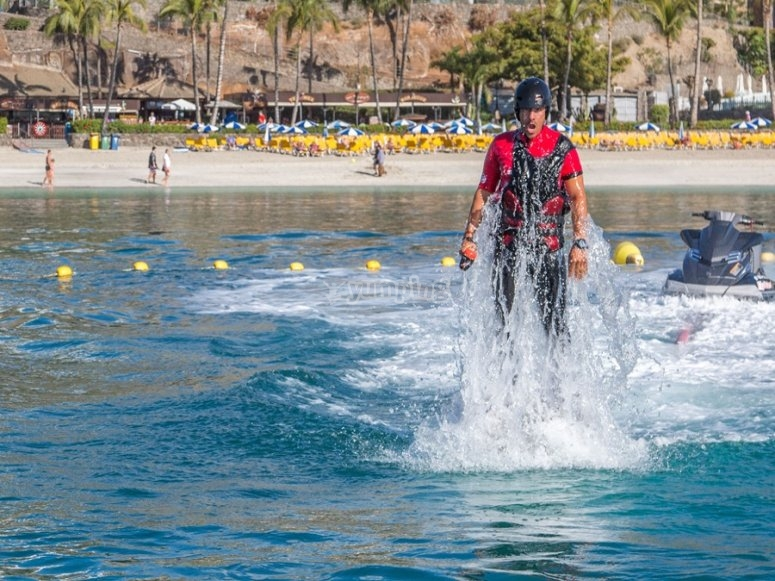 Aumento sul flyboard
