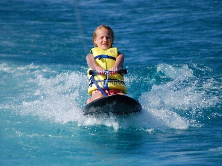 大加那利岛滑水板
