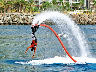 Flyboard session in Anfi del Mar 15 minutes