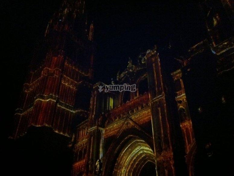 Recorrido por Toledo de noche