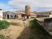 Zona central de La Granja