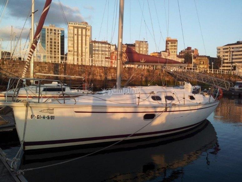 Lunghezza della barca a vela