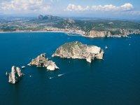 Arriving at the Medes Islands