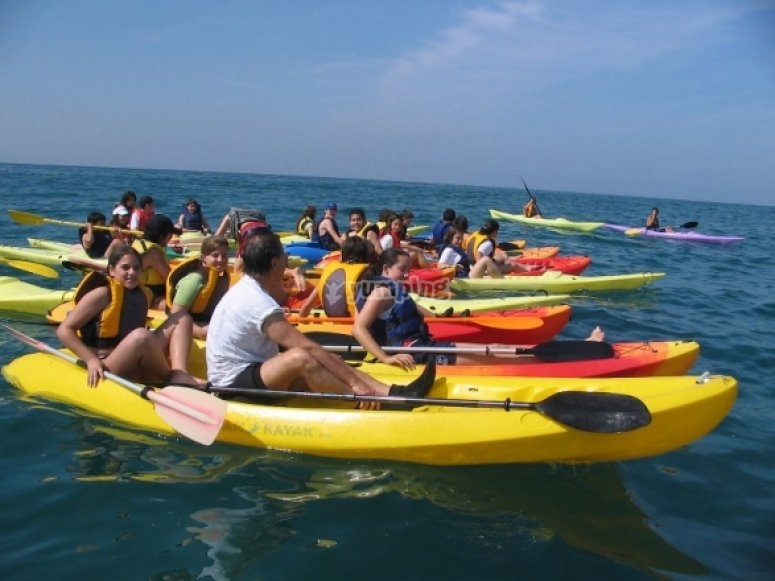 皮划艇经验