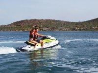 Jet ski excursion in the Mar Menor