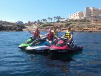 Excursion en grupo en jet ski