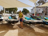 Jet skis at our facilities