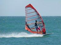 try windsurfing in Anfi del Mar, 1 hr