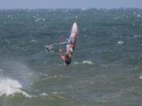 Profesionales del windsurf