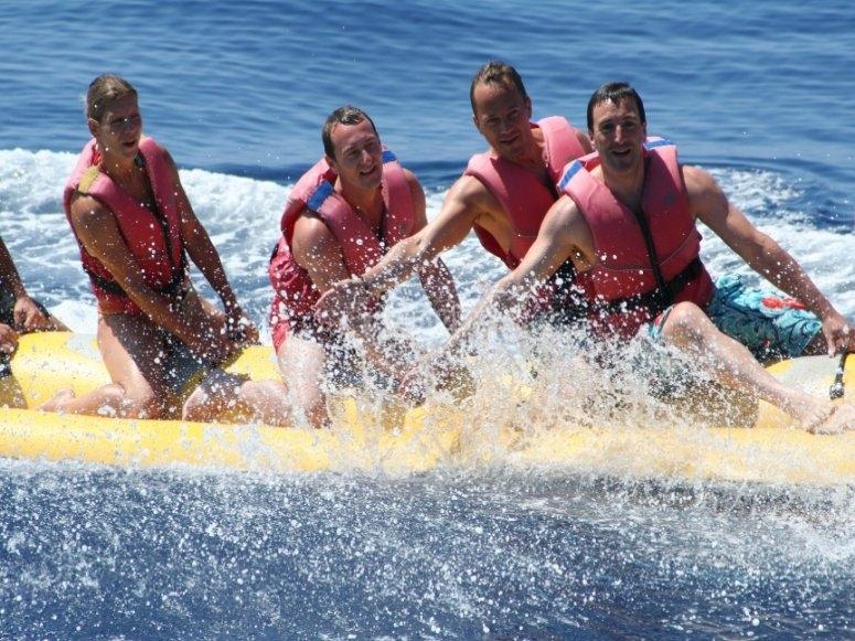 Prueba el banana boat