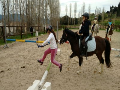Children's birthday party with ponies in Barcelona