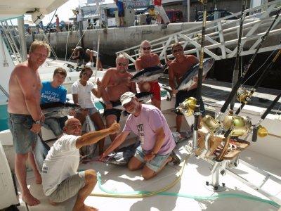 Salida privada de pesca Puerto Rico 6 horas