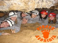Group of caving