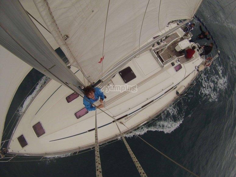 Barco desde arriba