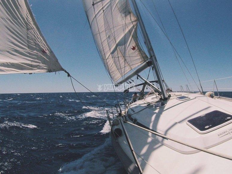 Sailing boat ride