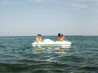Navegando en patin