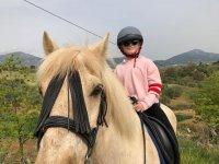 Lecciones de hípica para menores de 14 años en el Parque Natural Sierra de las Nieves