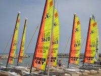 Hobie Cat trip in Anfi del Mar during 1 hour