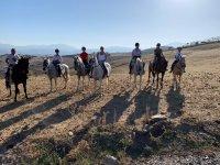 Trekking on horseback through the Sierra de las Nieves Natural Park