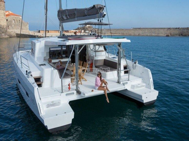 Paseo en catamarán 2 horas Estepona