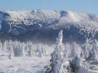 Un increíble paisaje invernal