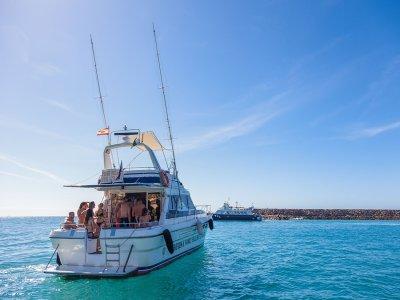 Alquilar barco a motor en Gran Canaria 3 horas