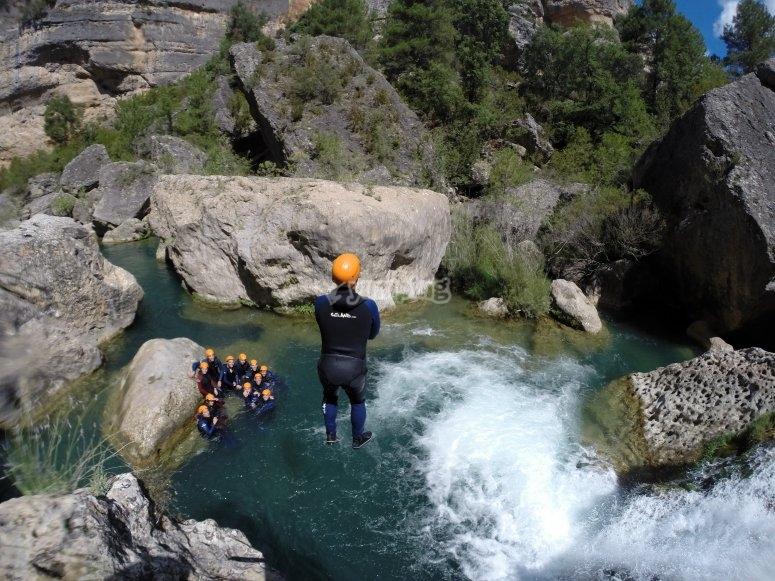 El salto de la cascada