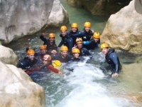 new canyoning group