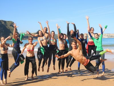 Surfing Class For Groups in Playa de los Locos