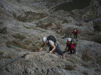 escalando la montana
