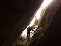 crossing the cave
