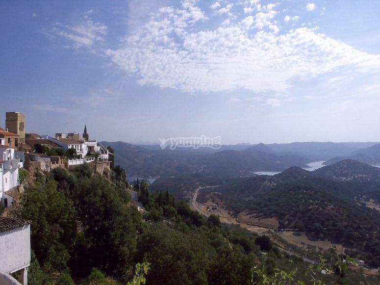 Panoramica Sierra de Aracena