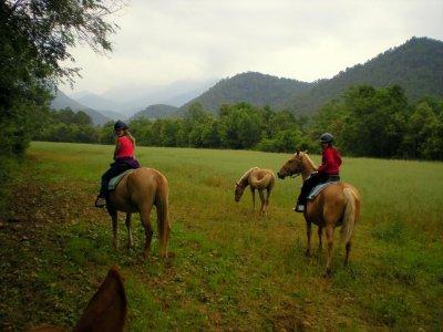 Tour a cavallo da Lliurona 2 giorni