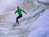 冲浪冲浪课程在洛杉矶的Locos冲浪课程苏安塞斯