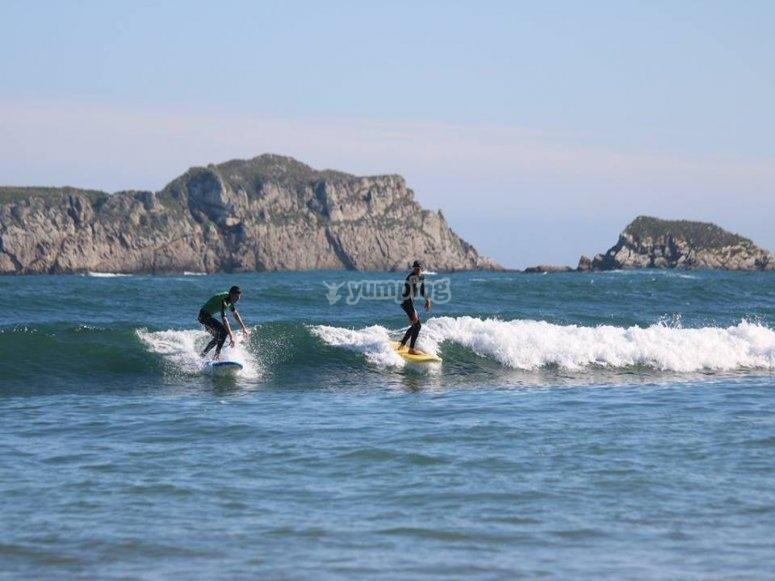 Suances冲浪课程