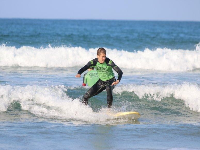 Cantabria冲浪课程