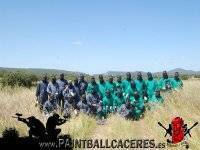 Las partidas de paintball mas divertidas