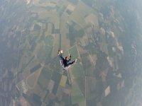saltando con paracaidismo norte