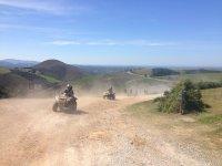 Levantando polvo con los quads