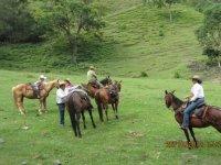 Ruta a caballo con alojamiento en Pontevedra