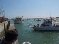 Navegar por Playa La Barrosa hasta Castillo Niños