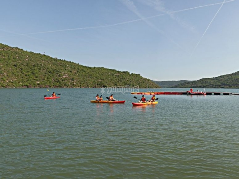 The Rialb reservoir