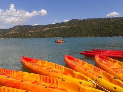 Kayak individual en Port de Pomanyons 1 hora