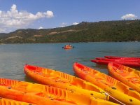 Kayak familiar en embalse Rialb 1 hora