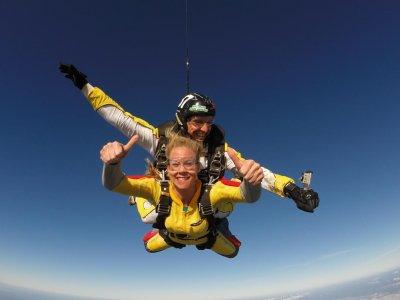 Tandem skydiving, Algarve + photos