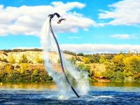 Backflip con flyboard