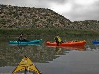 Excursión en canoas en el Negratín