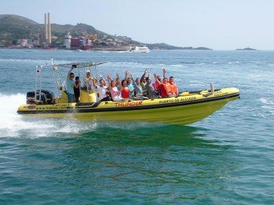 从Cala Estancia乘船游览1小时